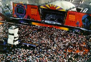 Stage in Moscow 1989